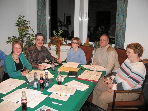 Claudia Hoffmann und Jörg Drunkenmölle (v.l.) zu Gast in der Fraktion